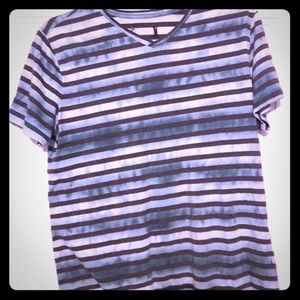 Rock & Republic - striped tie dye v-neck